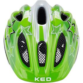 KED Meggy Casco Niños, green stars